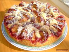 Rezepte Backen Obstkuchen. Pflaumenkuchen