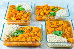 This Crockpot Butternut Squash Chicken Curry is a Food Prep Miracle! - Clean Food Crush