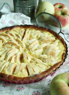 Samstag war bei Mama immer Apfelkuchentag. Ich war nicht immer der größte Fan von Apfelkuchen, da ich es eigentlich mit Äpfel nicht soooo habe.