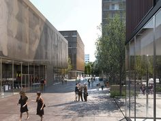 Réaménagement urbain (Einladungswettbewerb) Nante, FR // by LAN Architecture  _ 1 Place