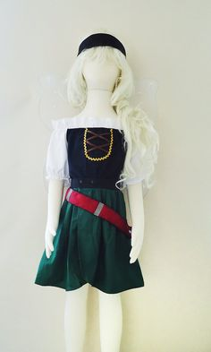 Zarina the Pirate Fairy Style 1 Fairy Costume by LoopsyBaby