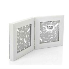 a6bdac77a58c This double photo frame has space for two individual 4 x 4 inch photos and  it