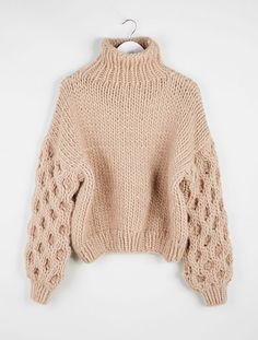 I Love Mr Mittens   High Neck Sweater - Taupe   MYCHAMELEON.COM.AU