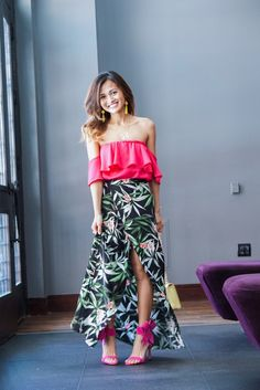 The Perfect Floral Skirt for Summer - Dawn P. Darnell