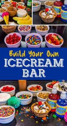Check out our tips on building the perfect ice cream sundae bar!