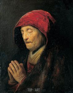 Old Woman Praying (Rembrandt's Mother Praying), c.1629/30 | Rembrandt ...