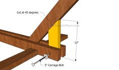 Hammock Stand Plans   Free Outdoor Plans - DIY Shed, Wooden Playhouse, Bbq, Woodworking Projects
