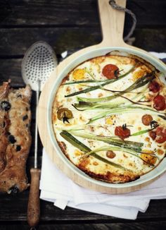 beautiful frittata