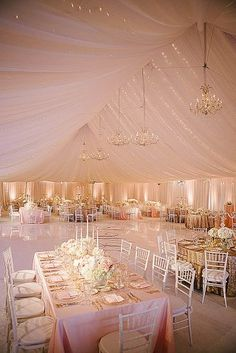 42 Glamorous Rose Gold Wedding Decor Ideas ❤ A gorgeous explosion of glitzy and glamorous rose gold! Take a look at the rose gold wedding decor ideas in our gallery below and get inspired! Tent Wedding, Wedding Receptions, Luxury Wedding, Wedding Table, Dream Wedding, Fall Wedding, Star Wedding, Wedding Dresses, Marquee Wedding