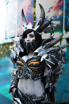 Deathwing (World of Warcraft) #cosplay by Jessica Nigri | Blizzcon 2015