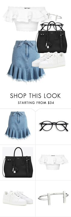 """Untitled #21136"" by florencia95 ❤ liked on Polyvore featuring Zimmermann, Yves Saint Laurent, Alexander McQueen, Loro Piana and French Connection"