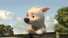 Bolt Dog Cartoon Desktop Background.