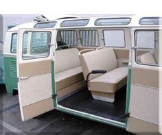 VW Classifieds - TMI Interiors for Aircooled & Watercooled VW's Vintage Volkswagen Bus, Volkswagen Bus Interior, Campervan Interior, Vw Camper, T1 Bus, Vw T1, Volkswagen Beetles, Volkswagen Transporter, Volkswagen Golf