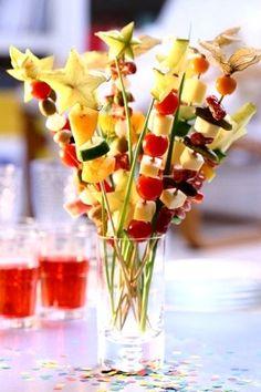 Fruit wands, starfruit genius!