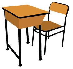 School Desk Clipart Free standing kitchen sink Traditional bedroom decor Table and chairs