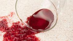 Comment nettoyer une tache de vin ?