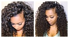 HowTo Blend Your Hair With Big Curly Extensions - http://community.blackhairinformation.com/video-gallery/weaves-and-wigs-videos/howto-blend-hair-big-curly-extensions/