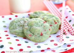 Pistachio Cherry Meltaways | The Girl Who Ate Everything