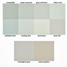 rooms painted with healing aloe benjamin moore paint | ... Chic in Cville: Paint Opinions Needed! Silver Crest vs. Healing Aloe