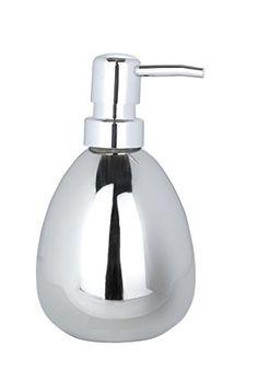 "From 6.99:Wenko ""polaris"" Soap Dispenser Silver"