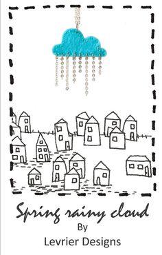 Little felt cloud by Levrier Designs