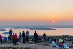 Whether climbing on foot to the summit of Acadia National Park's Cadillac Mountain on hiking trails, or by car on the twisting 3.5-mile road, hundreds of visitors, wrapped warmly against the early chill, arrive in the dark to be among the first in the continental U.S. to witness sunrise. (From October to early March, the sun strikes Cadillac Mountain first; at other times Mars Hill in Aroostook County claims the first-light crown.) Cadillac Mountain is one of more than 20 mountains on Mount…