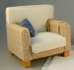 how to: armchair, good tutorial for making  How you don´t get a lot of threads and uneaven sides