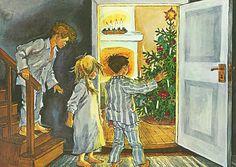Christmas in Noisy Village by Astrid Lindgren (illustration by Ilon Wikland)