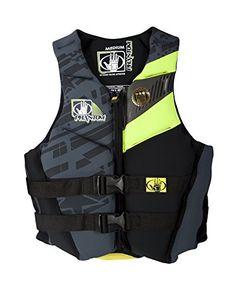 Body Glove Womens Phantom US Coast Guard Approved Neoprene PFD Life Vest LemonBlack Medium * For more information, visit image link.Note:It is affiliate link to Amazon.