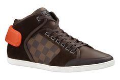 Louis Vuitton Spring/Summer 2013 Men's Shoes Summer Sneakers, Best Sneakers, Sneakers Fashion, Louis Vuitton Men Shoes, Sneakers Sketch, Moda Sneakers, Lv Shoes, Nike Design, Damier