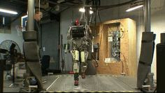 I could watch this all day. Guessing Boston Dynamics.