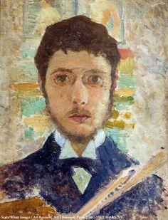 Pierre Bonnard, Self-Portrait.