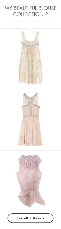 """MY BEAUTIFUL BLOUSE COLLECTION 2 ..........................................................."" by dawn-lindenberg ❤ liked on Polyvore featuring dresses, vestidos, short dresses, haljine, net mini dress, mini dress, netted dress, short pink dress, short vintage dresses and pink"