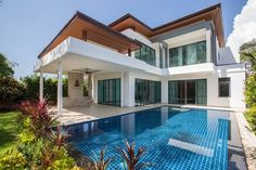 Find Modern Luxury Villa Swimming Pool stock images in HD and millions of other royalty-free stock photos, illustrations and vectors in the Shutterstock collection. Prefabricated Houses, Prefab Homes, Weding Colors, Braided Cornrow Hairstyles, Decks, Luck Tattoo, Modern Luxury, Luxury Villa, Home Builders