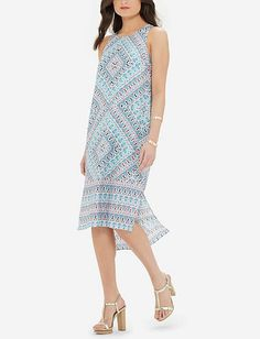 Lightweight Printed Dress from TheLimited.com