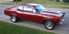 1974 Chevy Nova - my first car - same color and everything!