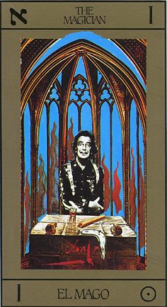 The Magician - I - Major Arcana | Tarot Salvador Dalí