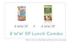 Weight Watcher Lunch Combo 18 - Meal Planning Mommies