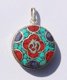 Reversible Tibetan & Sanskrit Om Mantra by TibetanBeadStore, $7.00