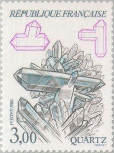 Sello: Quartz (Francia) (Minerals) Yt:FR 2430,Mi:FR 2563,Sn:FR 2018