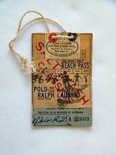 This tag was seen on the blog, The New Victorian Rualist by James Snowden of Finders Keepers Market