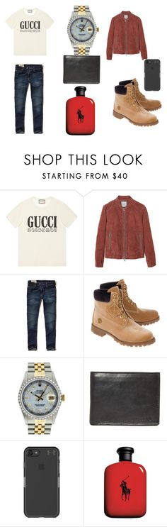 """daddys new look"" by kassibey ❤ liked on Polyvore featuring Gucci, MANGO MAN, Hollister Co., Off-White, Rolex, Nixon, Under Armour, John Lewis, men's fashion and menswear"