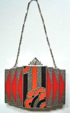 Speechless AND Breathless! Elsa Schiaparelli handbag, 1938, www.vintageclothin.com