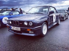 Our car for the Creme21 Youngtimer Rallye #carswithoutlimits #carsofinstagram #autos #cars #bmw #creme21 #fun #vintageracing