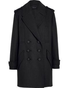 Manteau officier Isabel Marant en laine
