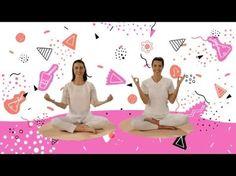 """YOGIC / Yoga para niños - Tutorial Meditación """"Humee Hum Brahm Hum"""" - Juegos y canciones infantiles - YouTube"""