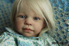 Reborn toddler  doll  Heidi by Jennie de Lange