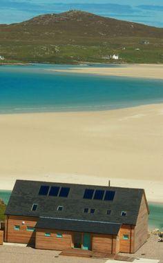 A spectacular setting on Uig Sands, Scotland