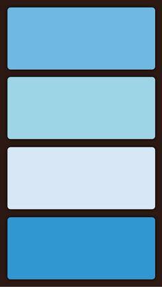 Brighter blue color palette