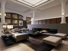 The sleek and sophisticated coppin penthouse overlooking - Appartement duplex winder gibson architecte ...